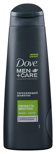 """Шампунь для волос """"Свежесть ментола""""  Dove"""