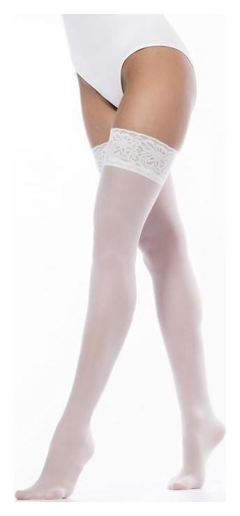 Чулки женские Guilia Emotion 40, цвет белый (Bianco), размер 1-2 (xs-s)  Giulia