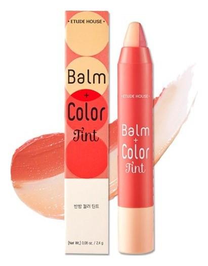 Двойной тинт-карандаш Balm+Color Tint 01  Etude House
