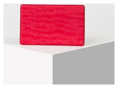 Футляр для проездного билета, цвет красный NNB