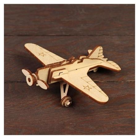 Конструктор «Военный самолёт и-16»  Polly