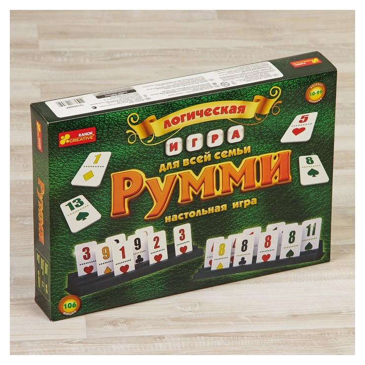 Настольная игра «Румми» Ranok (Ранок)