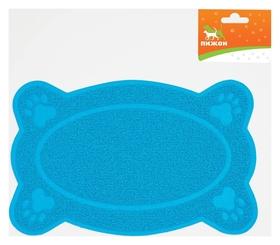 Коврик для туалета животных фигурный, 40 х 25 см  Пижон