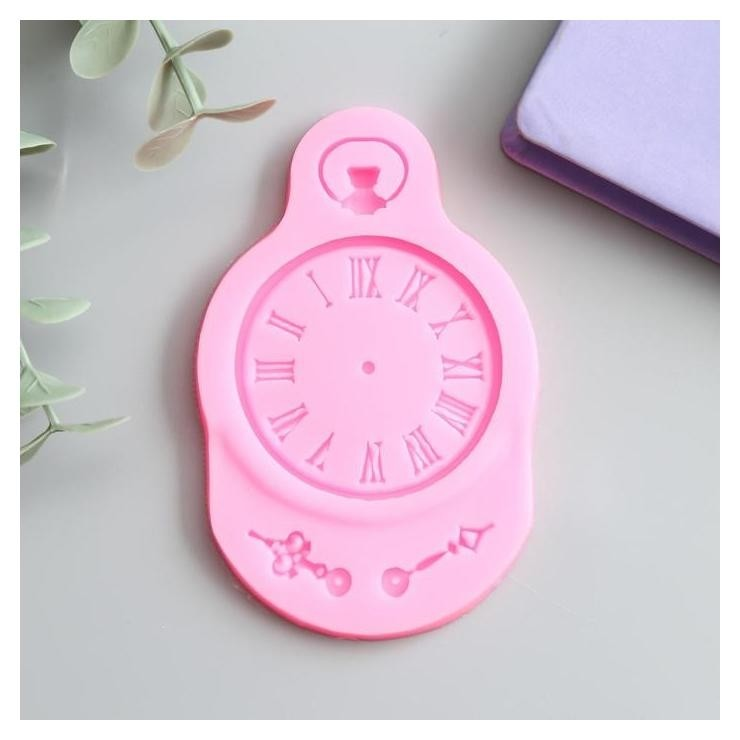 Молд силикон Карманные часы 9х5,6 см NNB