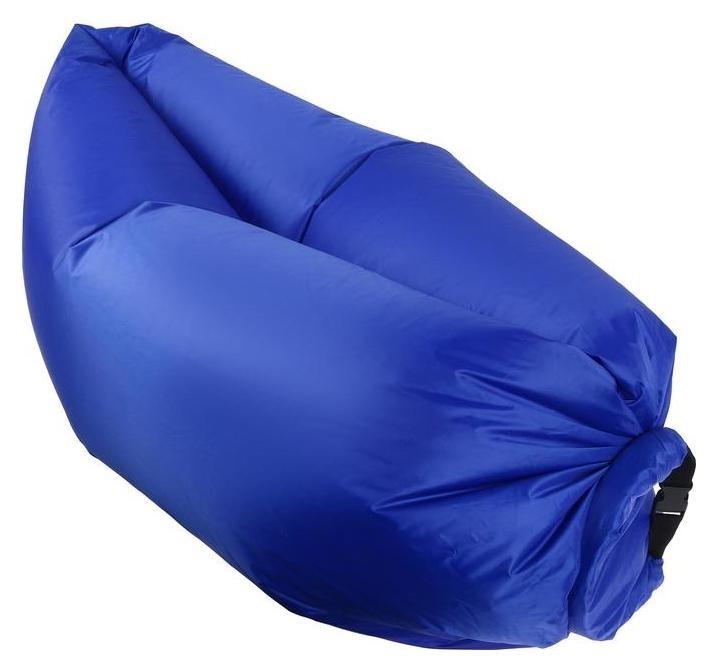 Диван самонадувающийся эконом цвет синий  NNB