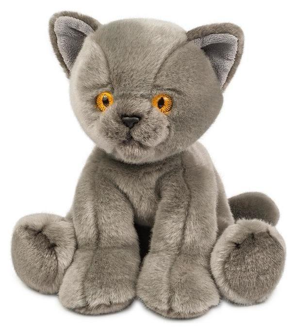 Мягкая игрушка «Котик серый», 30 см  Maxitoys