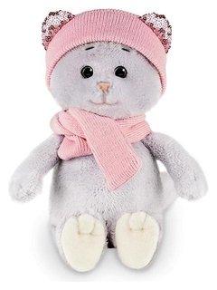 Мягкая игрушка «Мышель в шарфе и шапке», 20 см