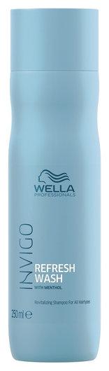 Оживляющий шампунь для всех типов волос Refresh Wash Wella Invigo