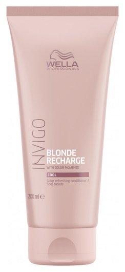 """Оттеночный бальзам-уход для холодных светлых оттенков """"Blonde Recharge""""  Wella Professional"""