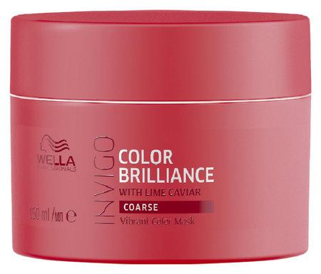 """Маска-уход для защиты цвета окрашенных жестких волос """"Color Brilliance""""  Wella Professional"""