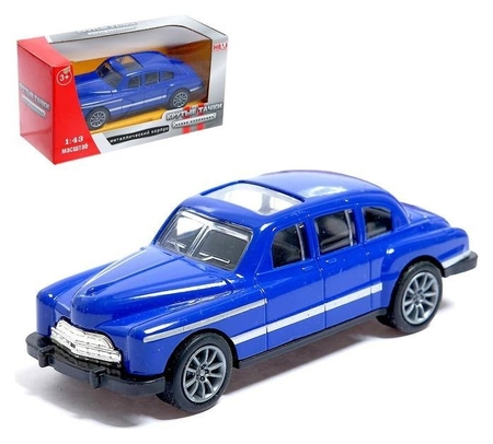 Машина металлическая «Ретро», масштаб 1:43, инерция NNB