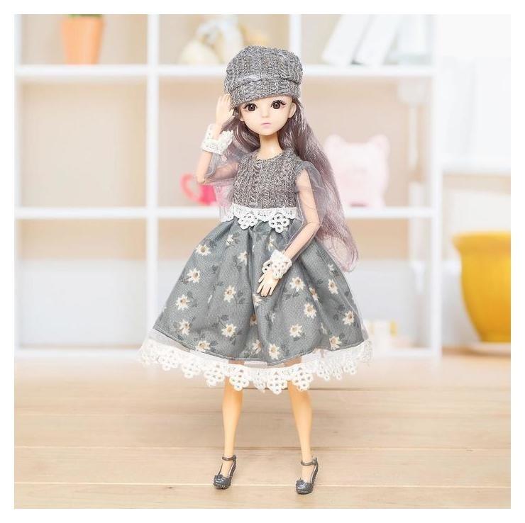 Кукла шарнирная «Анна» с аксессуарами NNB