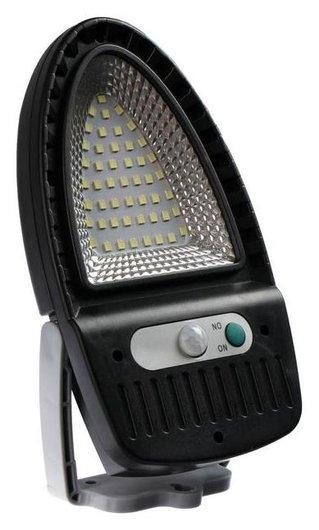 Светильник уличный с датчиком движения, поворотный, настенный 10 Вт, 49 Led, 6500к  NNB
