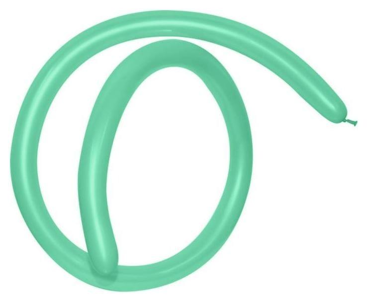 Шар для моделирования 260 стандарт, пастель, зеленый, набор 100шт.  Everts