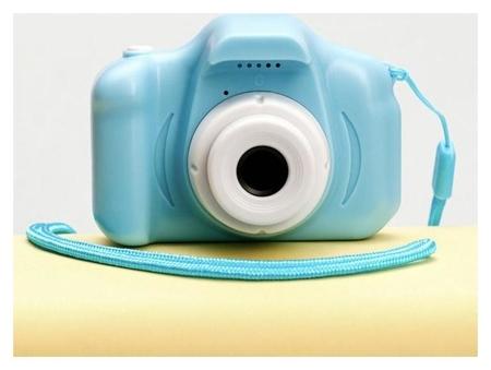 Фотоаппарат детский, синий, 8 х 6 см  Like me
