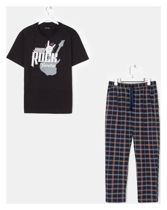 Пижама мужская Kaftan Rock р.52 Kaftan