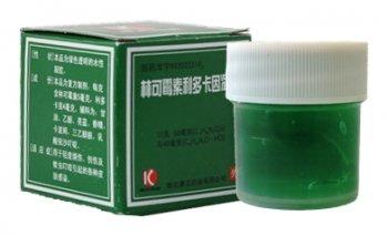 """Гель для тела """"Линькэмэйсу китайский зеленый"""", зеленка"""