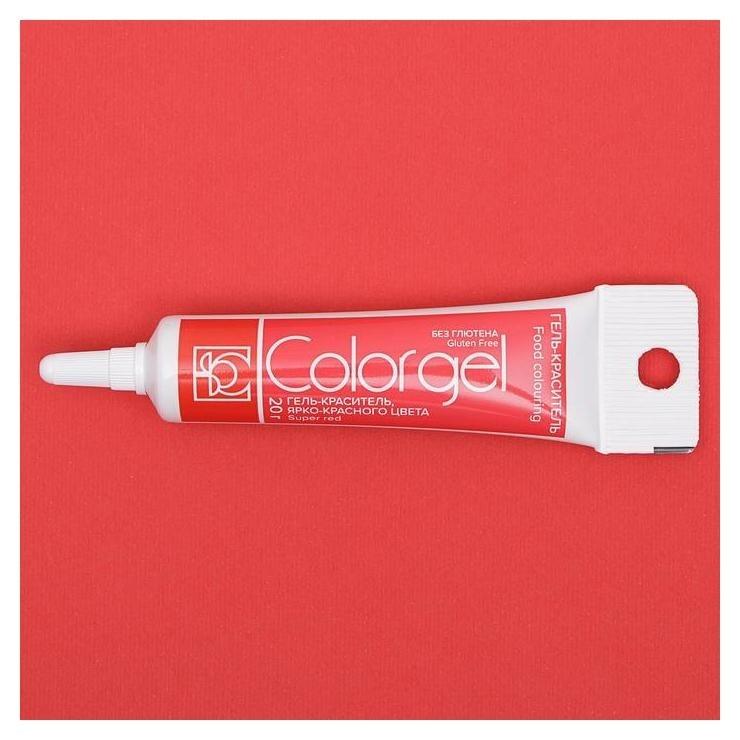 Краситель Modecor гелевый супер красный 20 гр Modecor