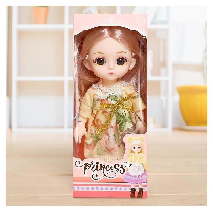 Кукла модная шарнирная «София» в платье NNB