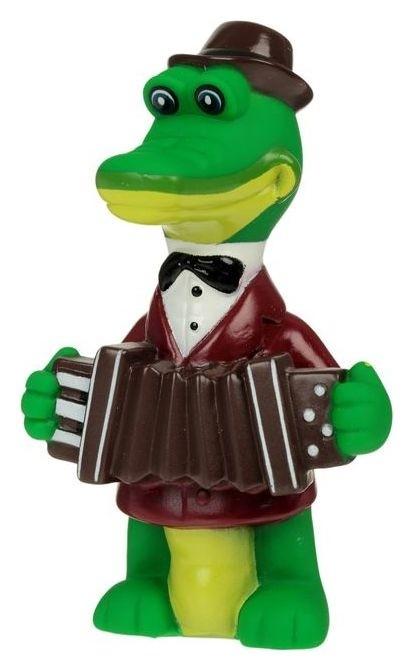 Игрушка для ванной «Крокодил гена» в сетке Играем вместе
