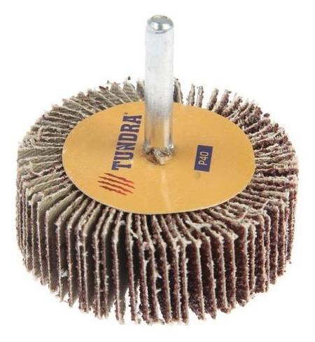 Круг лепестковый радиальный Tundra, 60 х 20 х 6 мм, Р40  Tundra