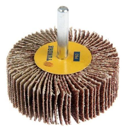 Круг лепестковый радиальный Tundra, 60 х 20 х 6 мм, Р60  Tundra