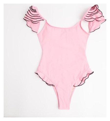 """Купальник слитный Minaku """"Summer Rose"""", размер 42, цвет розовый  Minaku"""