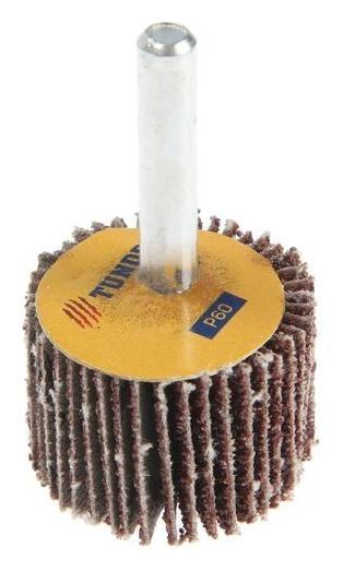Круг лепестковый радиальный Tundra, 30 х 20 х 6 мм, Р60  Tundra