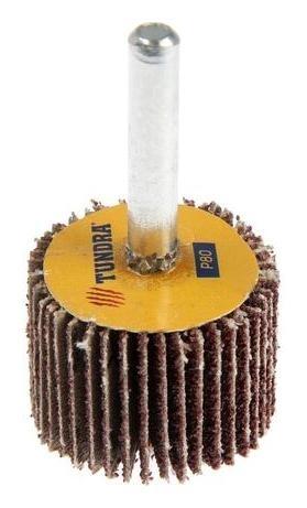 Круг лепестковый радиальный Tundra, 30 х 20 х 6 мм, Р80  Tundra