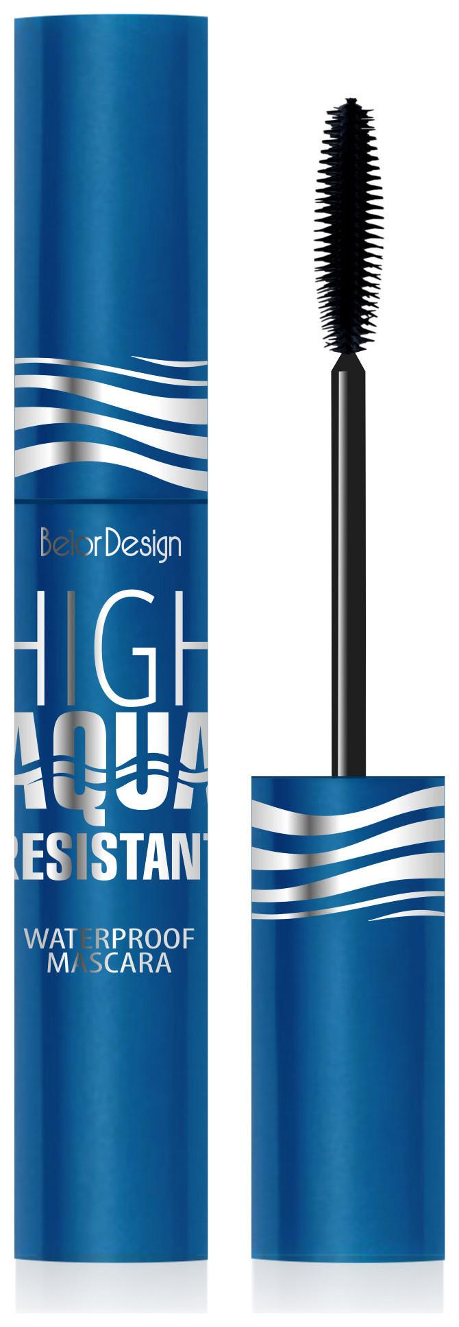 """Тушь для ресниц водостойкая """"High Aqua Resistant""""  Belor Design"""