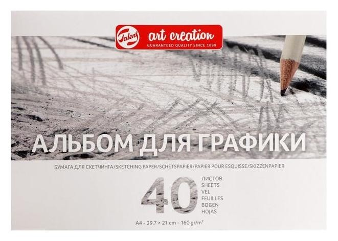 Альбом для графики А4 210*297 Royal Talens Art Creation 40л 160г/м скл Satin Tac931710  Royal Talens
