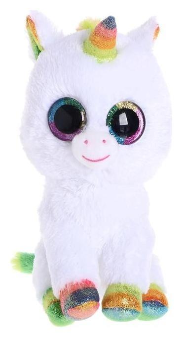Мягкая игрушка «Единорог пикси белый», 25 см  TY
