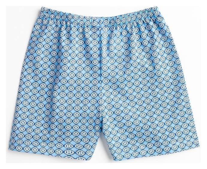 Трусы для мальчика, цвет голубой/пиксели, рост 98 см Basia