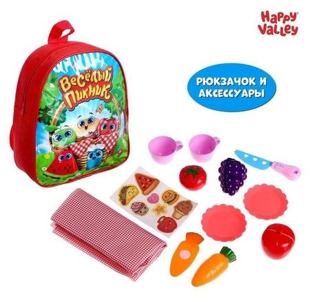 Игровой набор «Весёлый пикник», в рюкзачке  Happy Valley