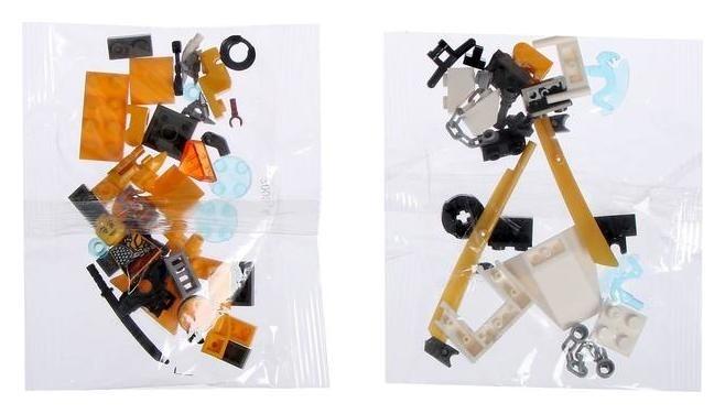 Конструктор ниндзя, 77 деталей, в пакете NNB