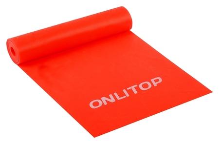 Эспандер ленточный для фитнеса, 150 х 15 х 0,03 см, нагрузка 5 кг  Onlitop