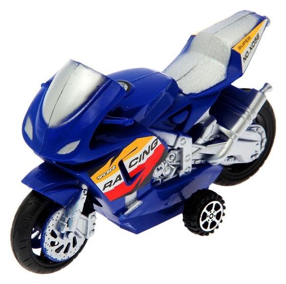 Мотоцикл инерционный Спортбайк, в пакете NNB