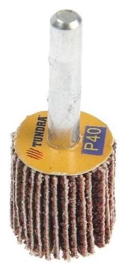Круг лепестковый радиальный Tundra, 20 х 20 х 6 мм, Р40  Tundra