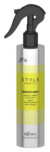"Спрей с морской солью ""Style Perfetto Beachy Hair Sea Salt Spray""  Kaaral"