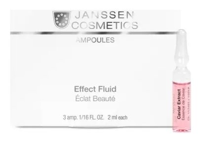 Концентрат ампульный для лица с экстрактом икры супервосстановление  Janssen Cosmetics