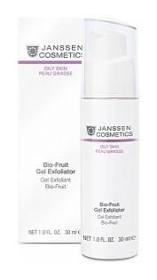 Гель-биокомплекс с фруктовыми кислотами для глубокого очищения и обновления проблемной кожи Bio-Fruit Gel Exfoliator  Janssen Cosmetics