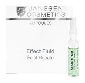 Сыворотка в ампулах для клеточного обновления кожи Stem Cell Fluid  Janssen Cosmetics