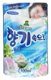 Кондиционер для белья, концентрированный Океанская свежесть Soft Aroma Aqua Blue  Sandokkaebi