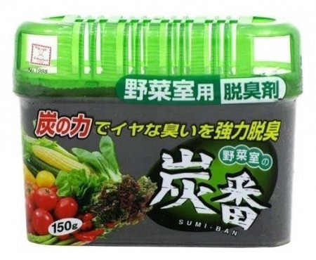 Поглотитель неприятных запахов для холодильника с древесным углём (овощная камера)  Kokubo