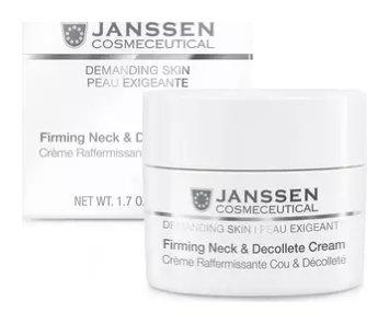Крем укрепляющий для кожи лица, шеи и декольте Firming Neck & Decollete Cream  Janssen Cosmetics