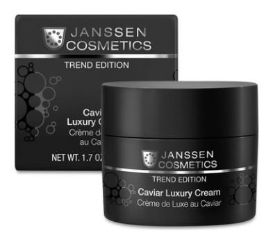 Крем для лица с экстрактом чёрной икры Caviar Luxury Cream  Janssen Cosmetics