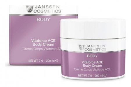 Крем для тела с витаминами A, C и E Vitaforce ACE Body Cream  Janssen Cosmetics