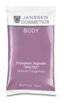 Лифтинг-маска охлаждающая моделирующая альгинатная Арктик с водорослями Cryogenic Alginate Arctic Janssen Cosmetics Body