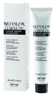 Крем-краска без аммиака с экстрактом икры, коллагеном и кератином 12 Minute  Be Hair