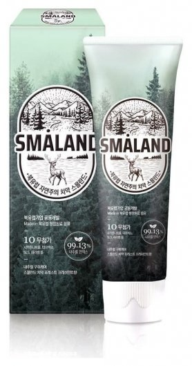 Зубная паста премиум Освежающая мята Forest Fresh Mint  Smaland